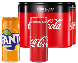 Coca-Cola®/ Fanta®  Dose, 6 x 0,33 l
