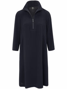 Kleid 3/4-Arm Bogner blau