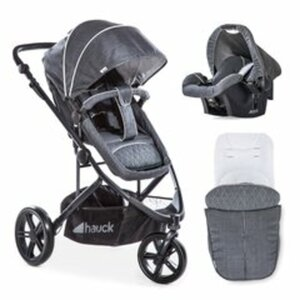 Hauck – Pacific 3 Shop´N Drive, Melange/Charcoal