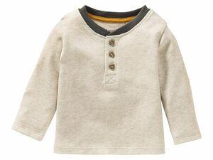 LUPILU® PURE COLLECTION Baby Jungen Langarmshirt