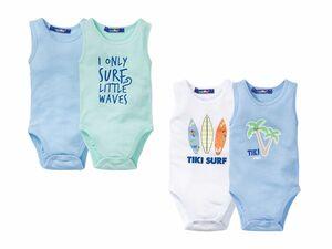 LUPILU® 2 Baby Jungen Bodys