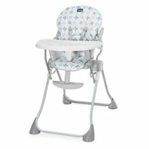 Chicco - Hochstuhl Pocket Meal, Light Grey