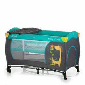 Hauck - Reisebett Sleep´n Play Center, Giraffe & Flower