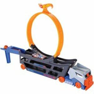 Hot Wheels - Stunt N Go Transporter & Trackset