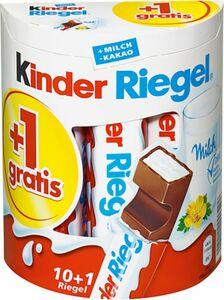 Kinder Riegel +1 gratis 231g