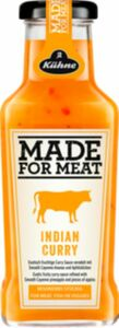 Kühne Made for Meat Indian Curry Flasche 235ml