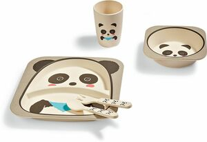 Dekor Kinder Geschirr-Set - Panda