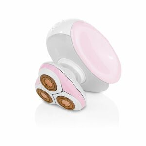 VITALmaxx Haarentferner Perfect Shave Body 3,7V rosa/weiß mit LED-Licht