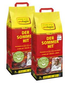 "Sommer Hit Buchen Holzkohle/ ""Grillis"" Grillholzkohlebriketts"