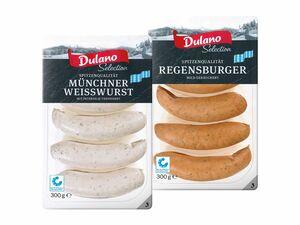 Münchner Weißwurst/ Regensburger