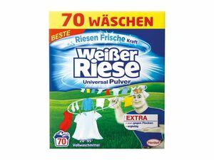 Weißer Riese Pulver 70 Wäschen