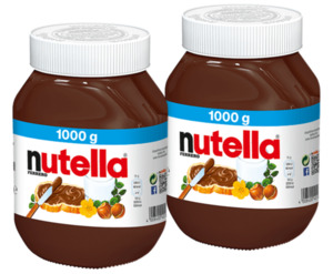 Ferrero nutella Nuss-Nugat-Creme