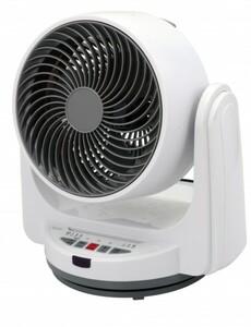 TrendLine Tischventilator Turbo ,  Ø 24 cm, weiß, 3 Stufen, Timer, oszillierend