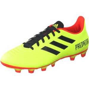 adidas performance Predator 18.04 FxG Fußball Herren gelb