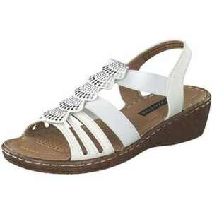 Sylvine Sandale Damen weiß