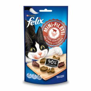 FELIX Mini-Filetti Leckere Hühnchen- & Rinder- Stückchen Katzensnacks ...