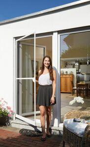 Schellenberg Premium Insektenschutz-Tür, weiß, 120 x 240 cm