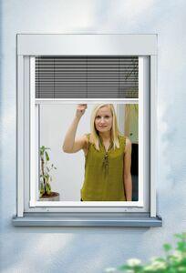 Schellenberg Insektenschutz-Fenster-Plissee, 140 x 150 cm