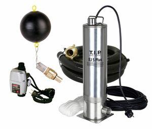 T.I.P. EJ 5 Plus - Zisternen-Tauchdruckpumpe mit Anschlußzubehör und e ...
