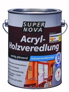Acryl-Holzveredelung