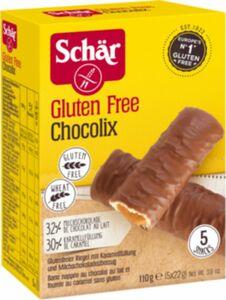 Schär Chocolix Karamelriegel, 110 g (5x22g)