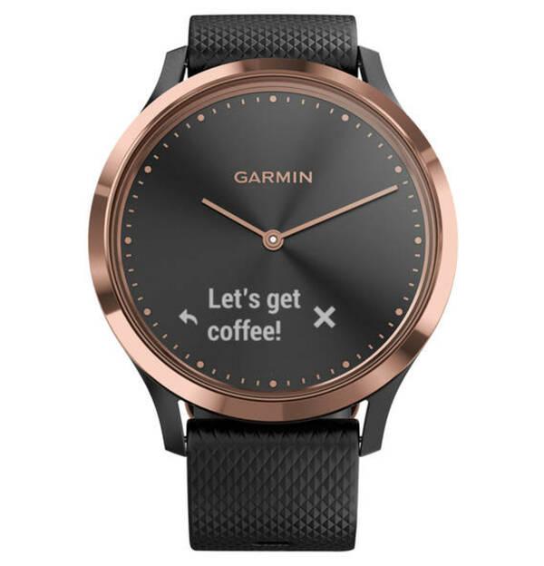GARMIN             Vivomove HR Sport Roségold/Schwarz 010-01850-06 Smartwatch
