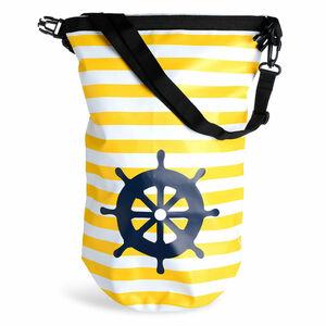 Wasserdichter Beutel, 10 Liter, gelb