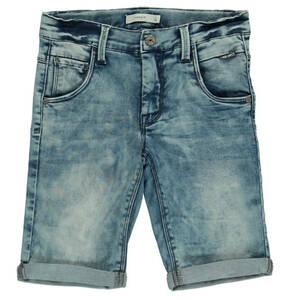 name it             Jeans-Shorts, Slim Fit, gekrempelter Saum, für Jungen
