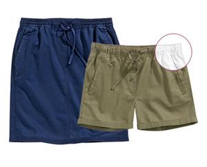 blue motion Leinen-/Baumwoll-Shorts oder Rock