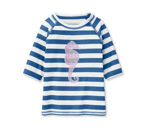 UV-Schutz-Shirt mit Pailletten