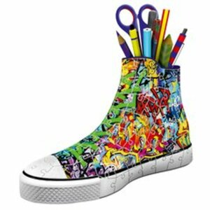 Ravensburger - 3D Puzzle: Girly Sneaker, Graffiti-Style