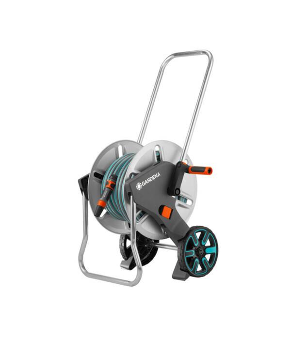 GARDENA Metall-Schlauchwagen Aquaroll M Set