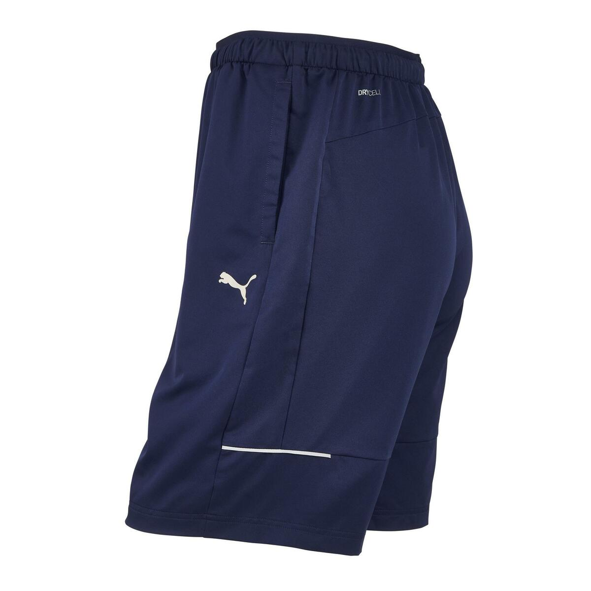 Bild 4 von Sporthose kurz Fitness Herren blau