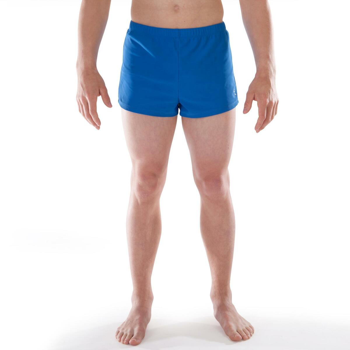 Bild 2 von Gymnastikhose kurz 500 Jungen Herren blau