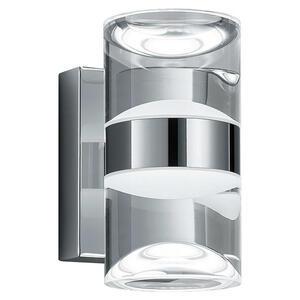 XXXL BADEZIMMER-WANDLEUCHTE, Silber, Weiß