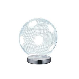 Boxxx LED-TISCHLEUCHTE, Silber, Weiß
