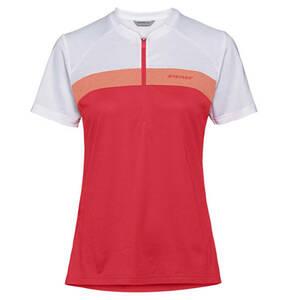 ZIENER             Fahrradshirt, Logo-Print, Reißverschluss, für Damen