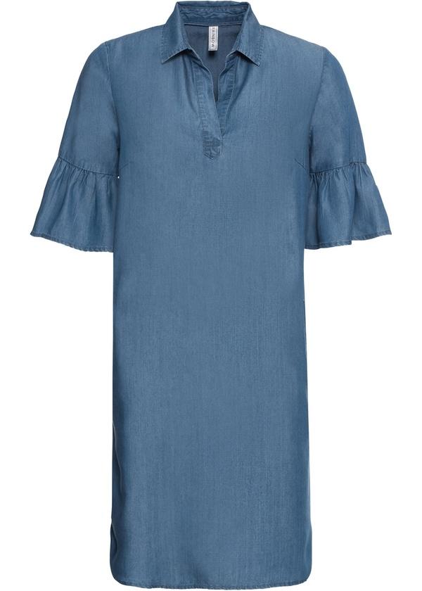 Kleid in Jeansoptik