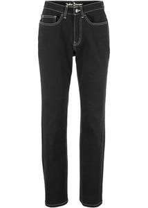 Stretch-Jeans aus klassischem Denim, STRAIGHT