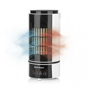 EASYmaxx Klimagerät Kühlen & Heizen 2in1 800W weiß/schwarz mit Fernb. + Timer