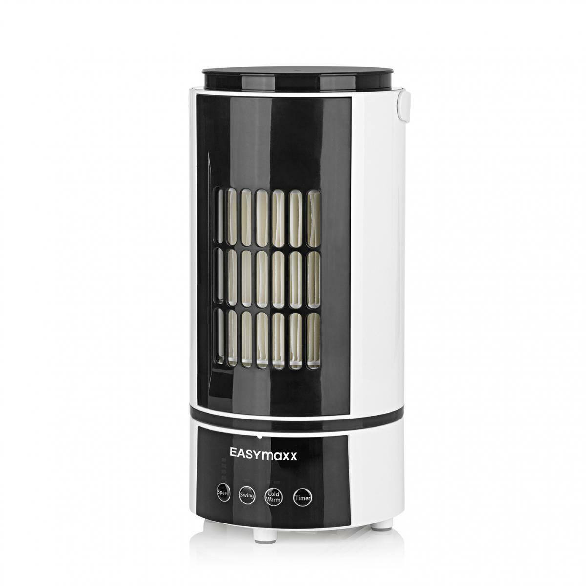 Bild 2 von EASYmaxx Klimagerät Kühlen & Heizen 2in1 800W weiß/schwarz mit Fernb. + Timer