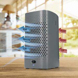EASYmaxx Luftkühler Kompakt 6V anthrazit