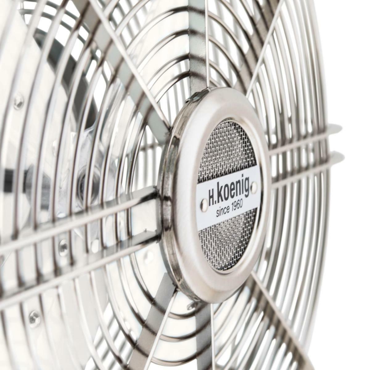 Bild 3 von H.Koenig JOE50 Metall-Ventilator weiß