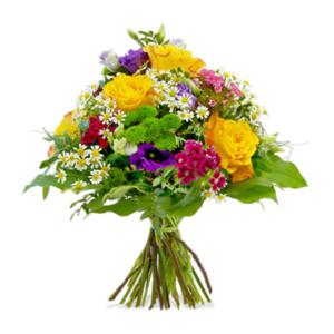 Bunte Geburtstagswünsche - | Fleurop Blumenversand