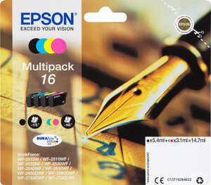 EPSON  Druckerpatronen Nr. 16 Multipack 4-farbig