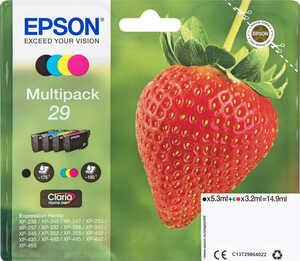 EPSON  Druckerpatronen Nr. 29 Multipack 4-farbig