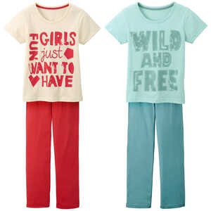 HIP & HOPPS®  Mädchen-Pyjama
