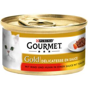 Gourmet Gold Délicatesse en Sauce Rind&Huhn