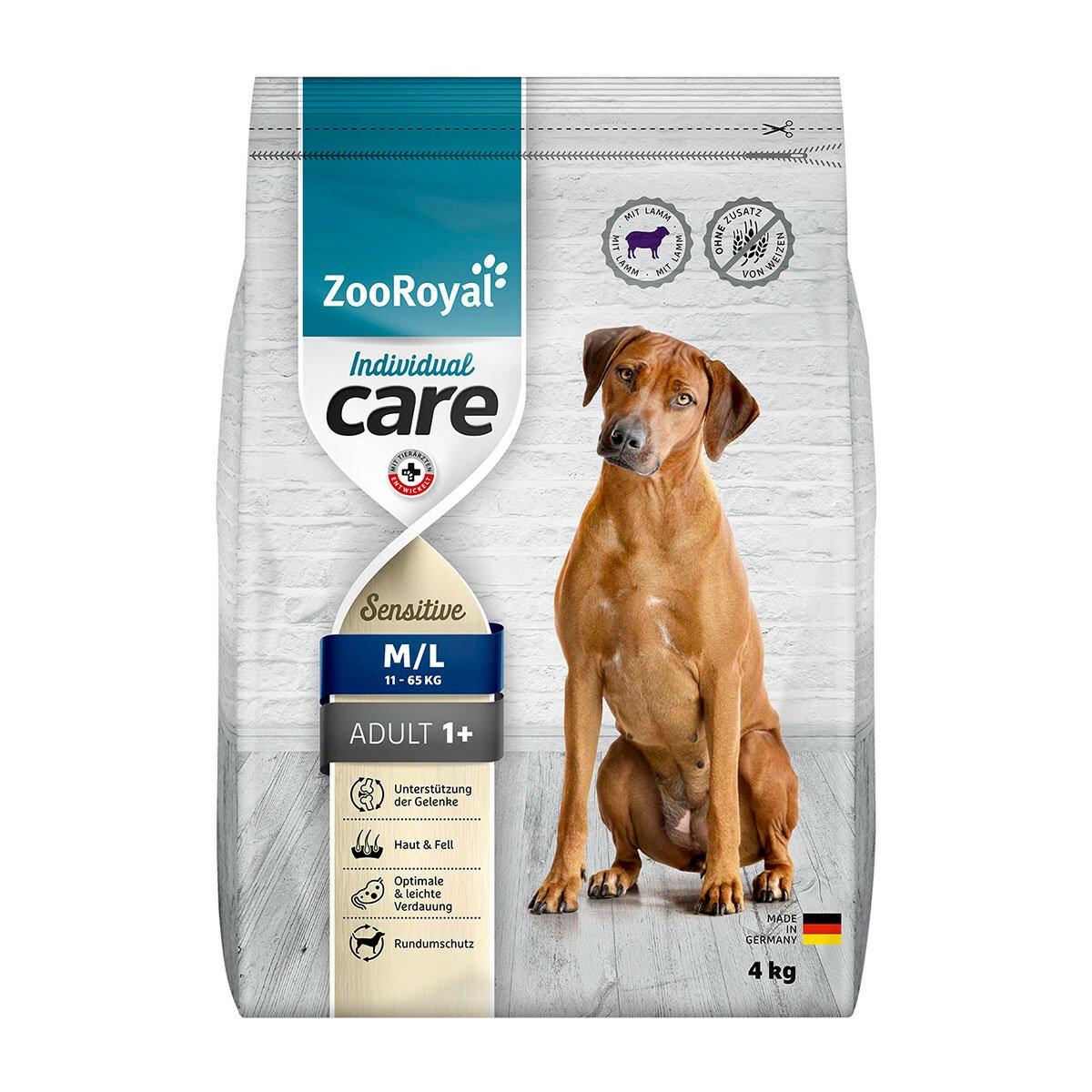 Bild 1 von ZooRoyal Individual care - Adult Sensitive mit Lamm