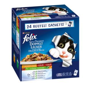 Felix So gut wie es aussieht Doppelt Lecker mit Gemüse Geschmacksvielfalt vom Land Multipack